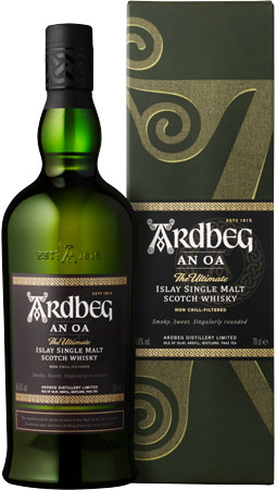 Picture of Ardbeg An Oa Whisky 70cl