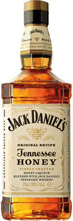 Picture of Jack Daniels Tennessee Honey Whiskey 70cl
