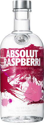 Picture of Absolut Raspberry Flavoured Vodka 70cl