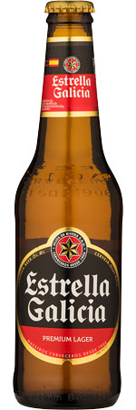 Picture of Estrella Galicia 24x330ml Bottles