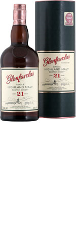 Picture of Glenfarclas 21 Year Old Scotch Whisky 70cl