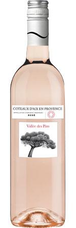 Picture of Vallée Des Pins Rosé 2020 Côteaux d'Aix en Provence