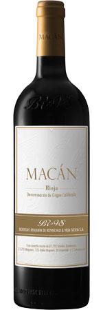 Picture of Vega Sicilia 'Macán', Rioja