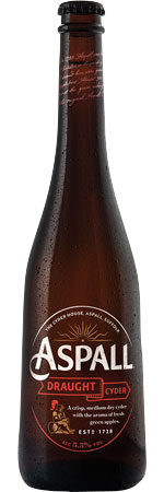 Picture of Aspall's Suffolk Draught Cider 12x500ml Bottles
