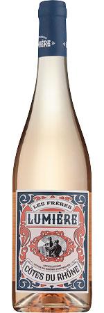 Picture of Les Frères Lumière Côtes du Rhône Rosé 2020