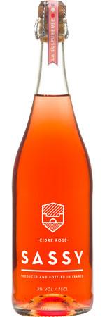 Picture of Sassy Cidre Rosé 3% 750ml