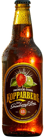 Picture of Kopparberg Strawberry and Lime Cider 8x500ml Bottles