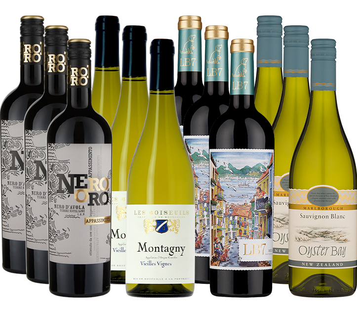 Picture of Majestic Best Sellers 12 Mixed Wine Case