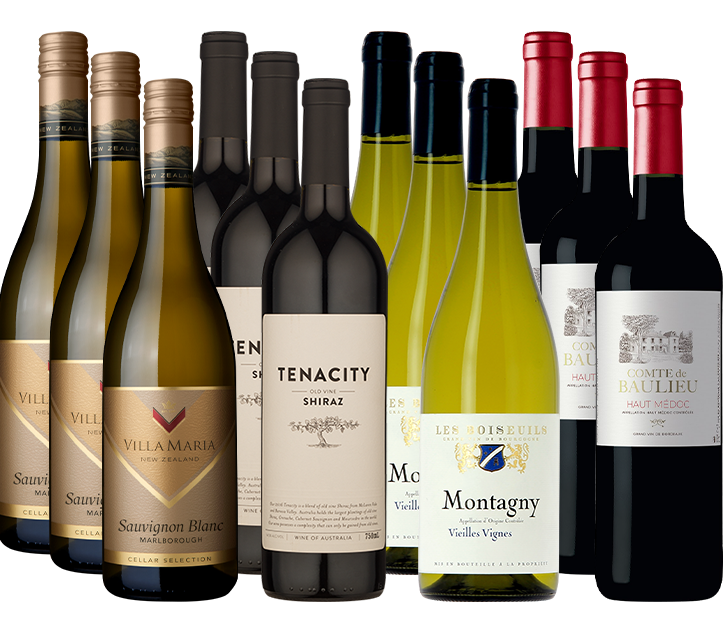 Picture of Premium Selection 12 Mixed Wine Case