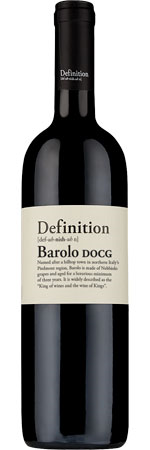 Picture of Definition Barolo 2017, Italy