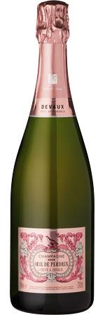 Picture of Devaux 'Oeil de Perdrix' Rosé Champagne