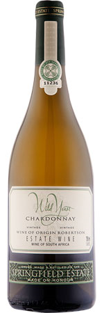 Picture of Springfield Estate 'Wild Yeast' Chardonnay 2020, Robertson