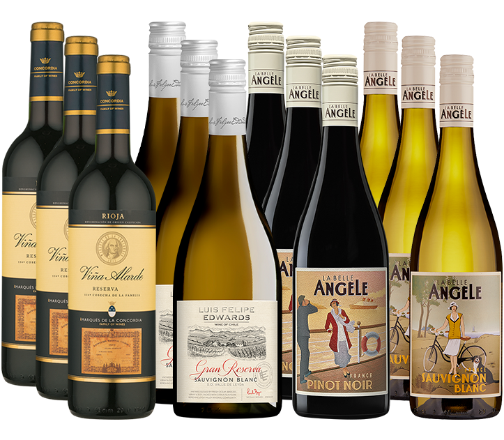 Picture of Majestic Favourites 12 Mixed Wine Case