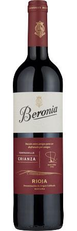 Picture of Beronia Rioja Crianza 2018
