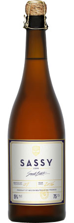 Picture of Sassy Small-Batch Cidre 5%
