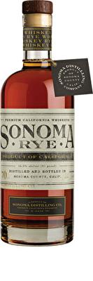 Sonoma Rye Whiskey 70cl