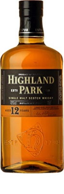 Highland Park 12 Year Old Whisky 70cl