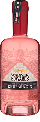 Warner's Rhubarb Flavoured Gin 70cl