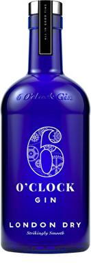 6 O'Clock Gin 43% 70cl