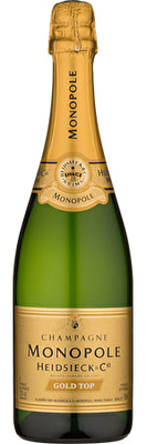 Heidsieck and Co. Monopole 'Gold Top' Champagne 2011