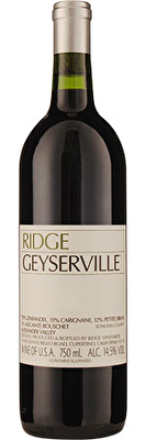 Ridge Geyserville Zinfandel 2018/19, Alexander Valley