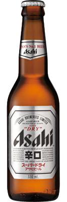 Asahi Super 'Dry' 24x330ml Bottles