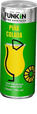 Funkin Pina Colada Nitro 4x200ml Cans