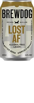 Brewdog Lost Lager AF 0.5% 4x330ml Cans