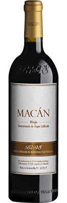 Benjamin de Rothschild & Vega Sicilia 'Macán' 2015, Rioja