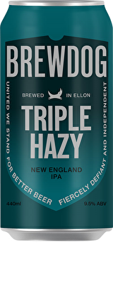 BrewDog Triple Hazy Jane Imperial IPA 9.5%, 12x440ml Cans