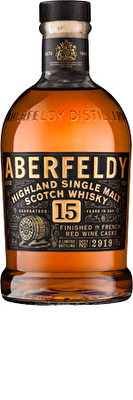 Aberfeldy 15 Year Old Whisky 70cl