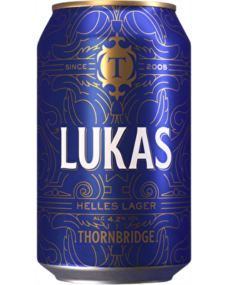 Thornbridge Lukas 12x330ml Cans