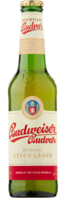 Budweiser Budvar 12x330ml Bottles