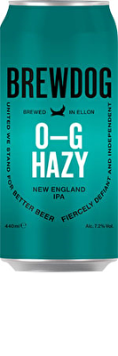 Brewdog O-G Hazy IPA 12x440ml Cans