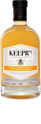 Keepr's Honey Dry Gin 70cl