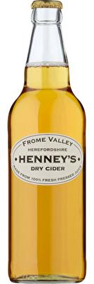 Henney's Dry Cider 12x500ml Bottles