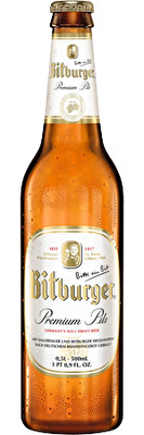 Bitburger 12x330ml Bottles
