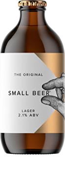Original Small Beer Lager 2.1% ABV 6x350ml Bottles