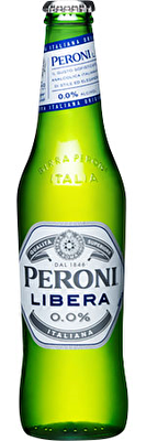 Peroni Libera 0% ABV 4x330ml Bottles