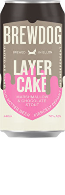 Brewdog Layer Cake Stout 12x440ml Cans