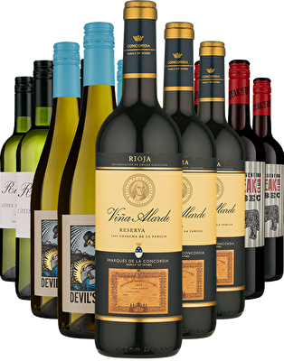 Majestic Favourites 12 Mixed Wine Case