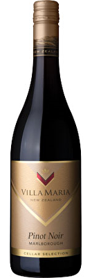 Villa Maria Cellar Selection Pinot Noir 2018, Marlborough
