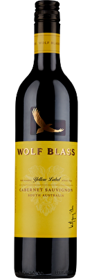 Wolf Blass Yellow Label Cabernet Sauvignon 2019, South Australia
