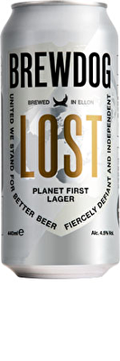 BrewDog Lost Lager 4.5% 10x440ml Can