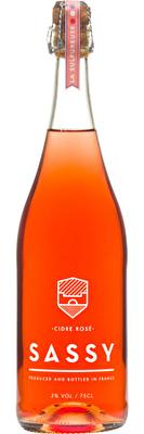 Sassy Cidre Rosé 3% 750ml