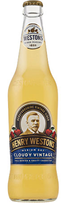 Henry Westons Cloudy Vintage Cider 8x500ml Bottles