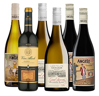 Majestic Favourites 6 Mixed Wine Case