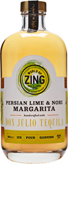 World of Zing Persian Lime and Nori Margarita