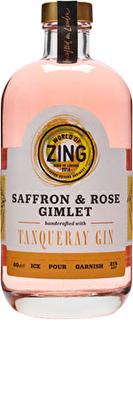 World of Zing Saffron and Rose Gimlet
