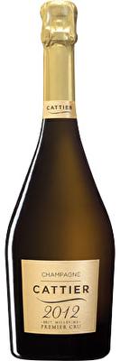 Cattier Premier Cru Brut Champagne Millesime 2012